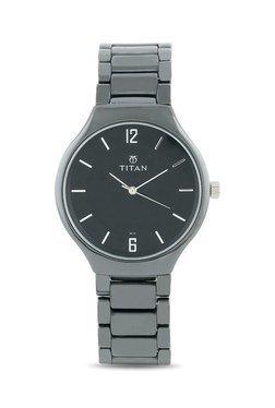 Titan NH90014KC01J Ceramic Analog Watch For Men