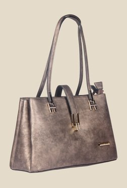 Esbeda Brown Synthetic Textured Shoulder Bag - Mp000000000622140