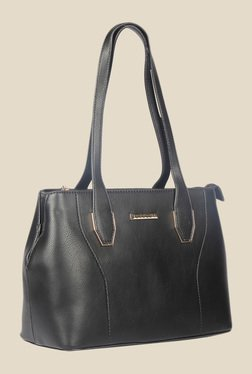 Esbeda Black Synthetic Textured Shoulder Bag - Mp000000000622155