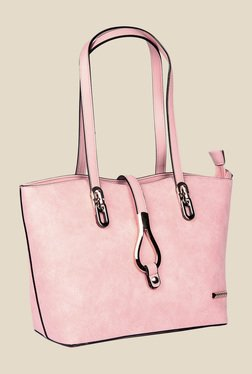 Esbeda Pink Synthetic Solid Shoulder Bag - Mp000000000622165