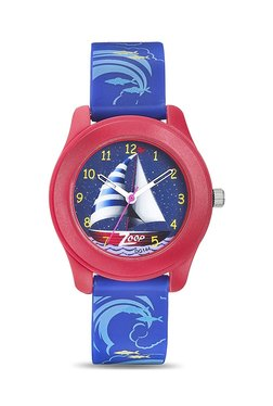 Zoop 16003PP03J Travel Analog Watch for Kids