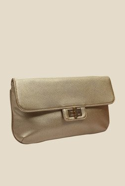 Globus Golden Solid Clutch