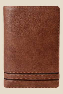 Baggit Ethan Times Tan Synthetic Wallet