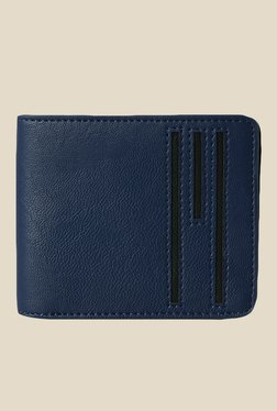 Baggit Margery Kasey Blue Synthetic Wallet