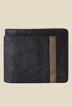 Baggit Rises Upton Black Synthetic Wallet