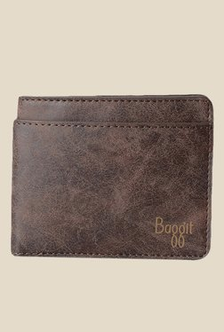 Baggit Spark Clive Brown Synthetic Wallet