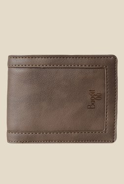Baggit Tris N Stella Brown Synthetic Wallet