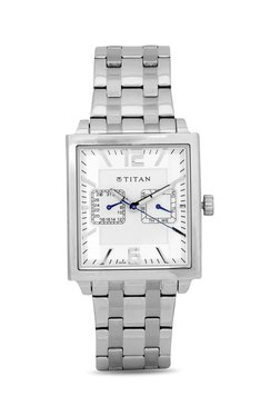 Titan NH1678SM01 Formal Steel Analog Watch For Men