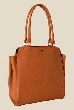 Baggit Founder Dora Mustard Synthetic Shoulder Bag