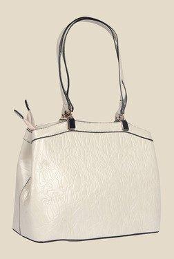 Esbeda Beige Synthetic Textured Shoulder Bag - Mp000000000622828