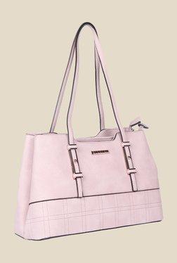 Esbeda Pink Synthetic Solid Shoulder Bag