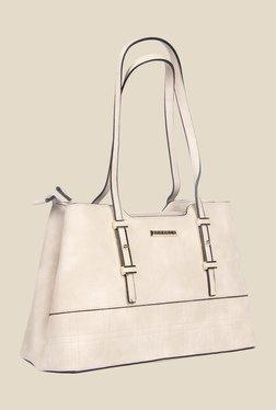 Esbeda Beige Synthetic Solid Shoulder Bag - Mp000000000622848