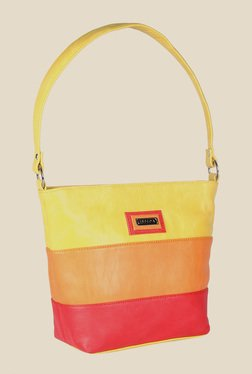 Esbeda Multicoloured Synthetic Solid Shoulder Bag