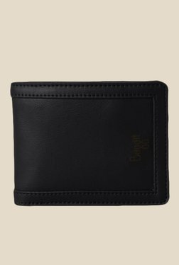 Baggit Tris Bindas Black Synthetic Wallet