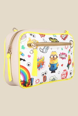 Zaera Minion Printed Sling Bag
