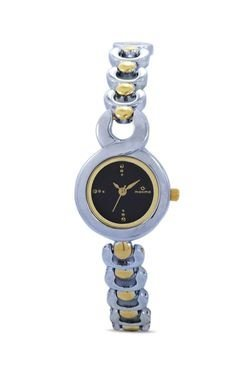Maxima 36330BMLT Two Tone Ladies Analog Watch For Women