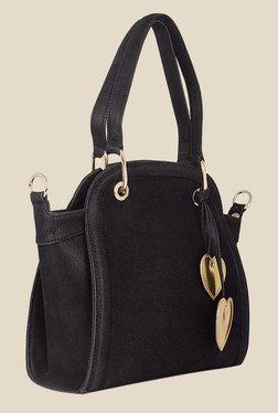 Zaera Black Solid Shoulder Bag - Mp000000000625135