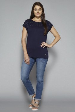 LOV by Westside Navy Lesley Top