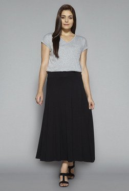 LOV by Westside Black Celina Skirt