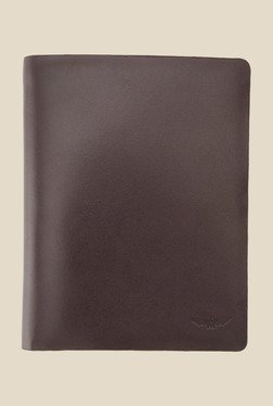 Park Avenue Brown Solid Leather Wallet