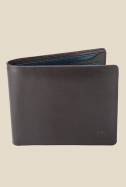 Raymond Brown Solid Leather Wallet
