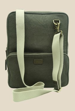 Viari Outback Olive Green Canvas Sling Bag