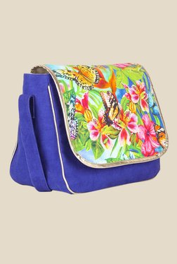 109 F Multi Printed Sling Bag