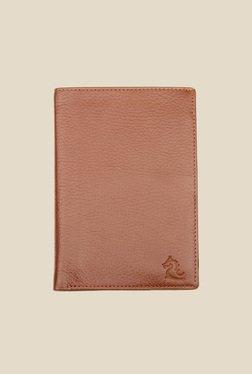 Kara Brown Leather Card Holder - Mp000000000628144