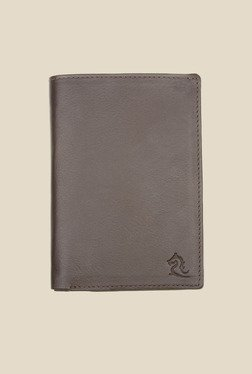 Kara Brown Leather Card Holder - Mp000000000628146