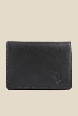 Kara Black Leather Card Holder - Mp000000000628154