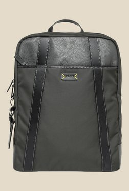 Viari Lombardy Grey Polyester Duke Backpack