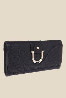 Fur Jaden Black Textured Wallet