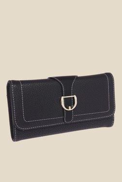 Fur Jaden Black Textured Wallet - Mp000000000628535