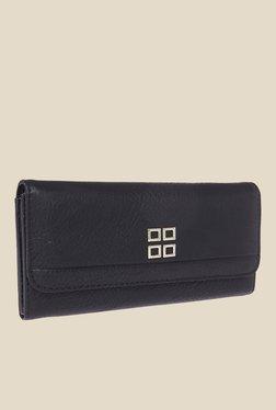 Fur Jaden Black Textured Wallet - Mp000000000628559