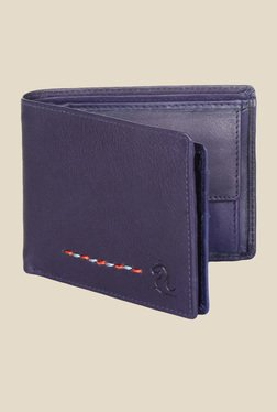 Kara Blue Leather Wallet