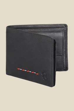 Kara Black Leather Wallet