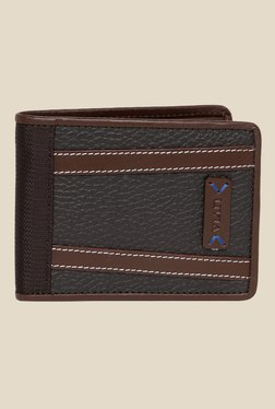 Viari Lombardy Brown Polyester Wallet