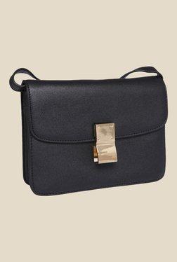 Fur Jaden Black Solid Sling Bag - Mp000000000628938