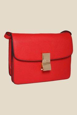 Fur Jaden Red Solid Sling Bag - Mp000000000628939