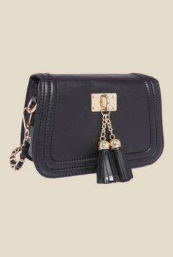 Fur Jaden Black Solid Sling Bag - Mp000000000628966