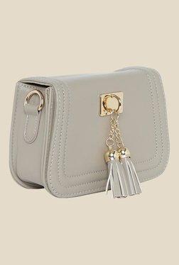 Fur Jaden Grey Solid Sling Bag - Mp000000000628967