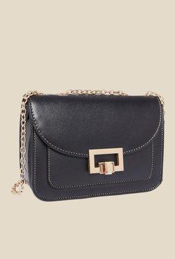 Fur Jaden Black Solid Sling Bag - Mp000000000629011