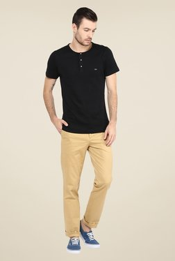 Turtle Beige Solid Chinos