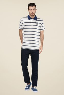 Turtle Navy Solid Chinos