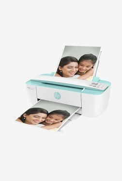 HP DeskJet Ink Advantage 3776 AIO Printer (White/Green)