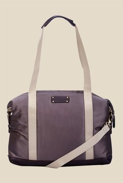 Caprese Lina Purple Nylon Shoulder Bag