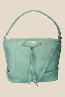 Caprese Phoenix Green Solid Shoulder Bag