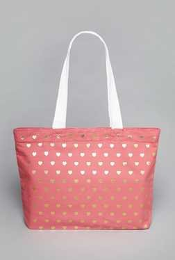 Westside Coral Canvas Tote