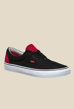 Vans Era Black & Red Sneakers