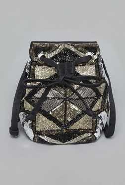Nuon By Westside Black Bucket Bag